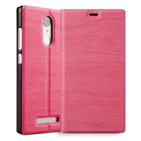 Wholesale price pu leather stand flip case for xiaomi hongmi ,Cute pattern smart leather covers case