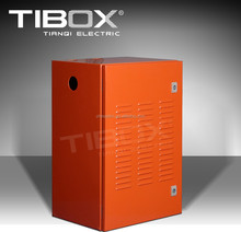 TIBOX Low voltage distribution control box houseing electrical Orange color for industry