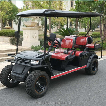 Hot Sale off road Electric Golf Cart 4+2 seats