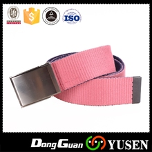 Bottom price Cheapest all kinds of colorful canvas belt