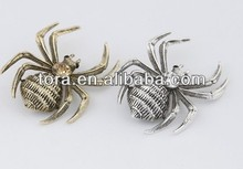 2014 wholesale charm brooch spider brooch