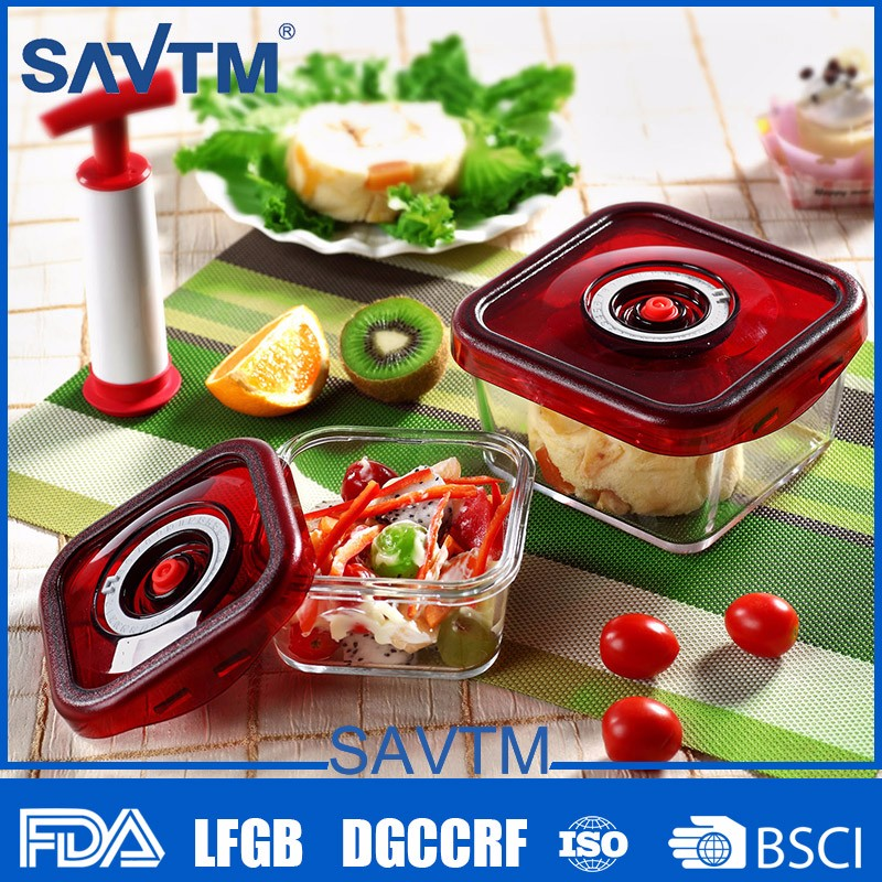 Easy Operated Fridge Vacuum Box Hot Sell Biodegradable Microwave Food Container