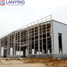 Cheap Steel Frame Prefab Industrial Project Building Factory with nice price