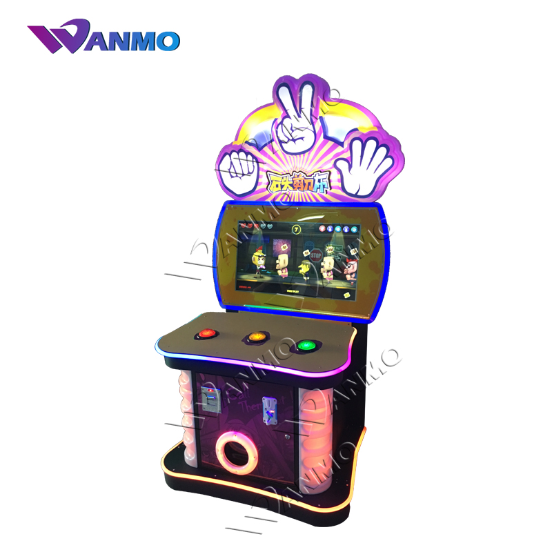 Top fashion multifunction consoles scissors, stone, cloth, educational electronic games machine