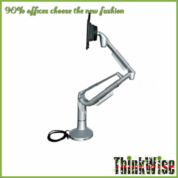 Thinkwise <strong>K100</strong> Brand NEW Gas spring adjustable VESA desk lcd bracket