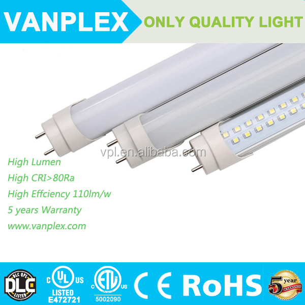 factory hot sale chinese sex led tube 8 indoor with 5 years warranty