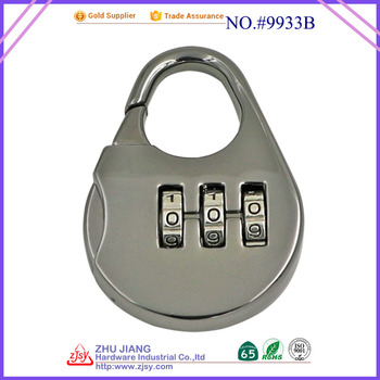 mini 3 digital combination padlock