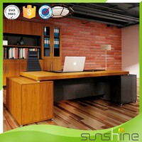 Sunshine Furniture L Shaped Luxury Executive Wooden Office Desk
