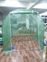Mini Outdoor PE walk-in garden green house