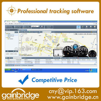 Professional GPS tracking software for GPS tracking server compatible with most of tracker at competitive price