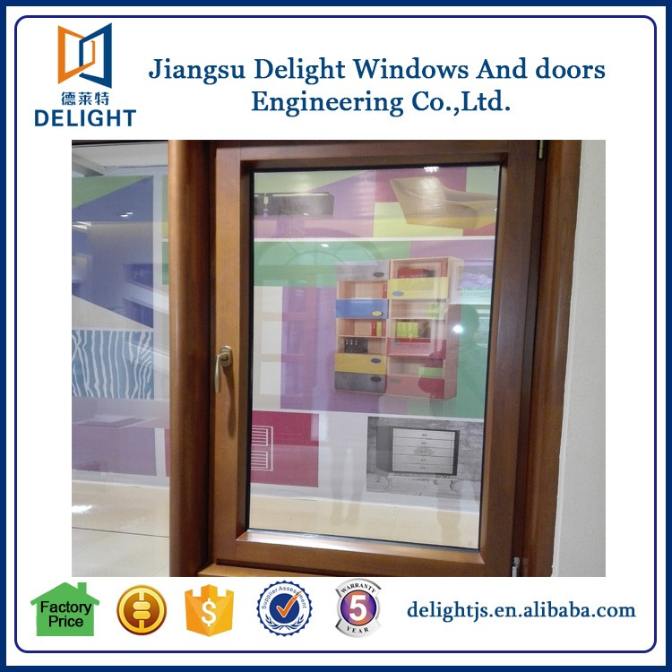 New luxury design window frame timber inisde for home