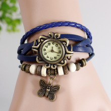 2014 most popular women butterfly vintage fashion lady watches ladies.