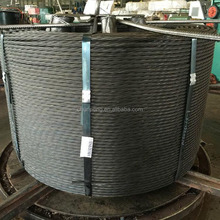 metal building material LRPC BS5896 12.7mm PC Steel Wire Strand low relaxation pc strand