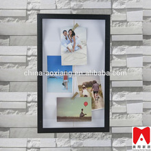 China direct factory A1A2 A3 A4 Beautiful PS photo frame wall mirror large wholesale timber frame picture