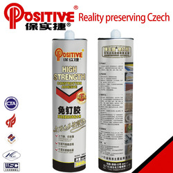 Manufacturer 310g water resistant nail free construction sealant