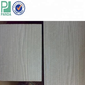Middle Density Wood Grain Fire Rated Fiber Cement Board Exterior Wall Panel