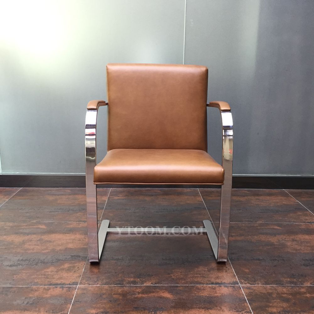 Reproduction Ludwig Mies Van Der Rohe Inspired Brno Flat Chair