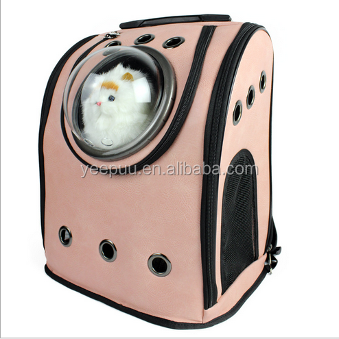 For Cats and Dogs Innovative Traveler Bubble Backpack Pet Carrier