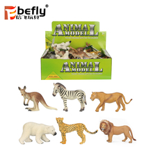 Vivid leopard lion plastic jungle animal wild animal toys
