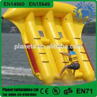 Top Quality Inflatable Flying Fish Tube Towable Banana Boat For Water Game