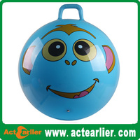 inflatable bouncing ball toy pvc jumping ball with handle