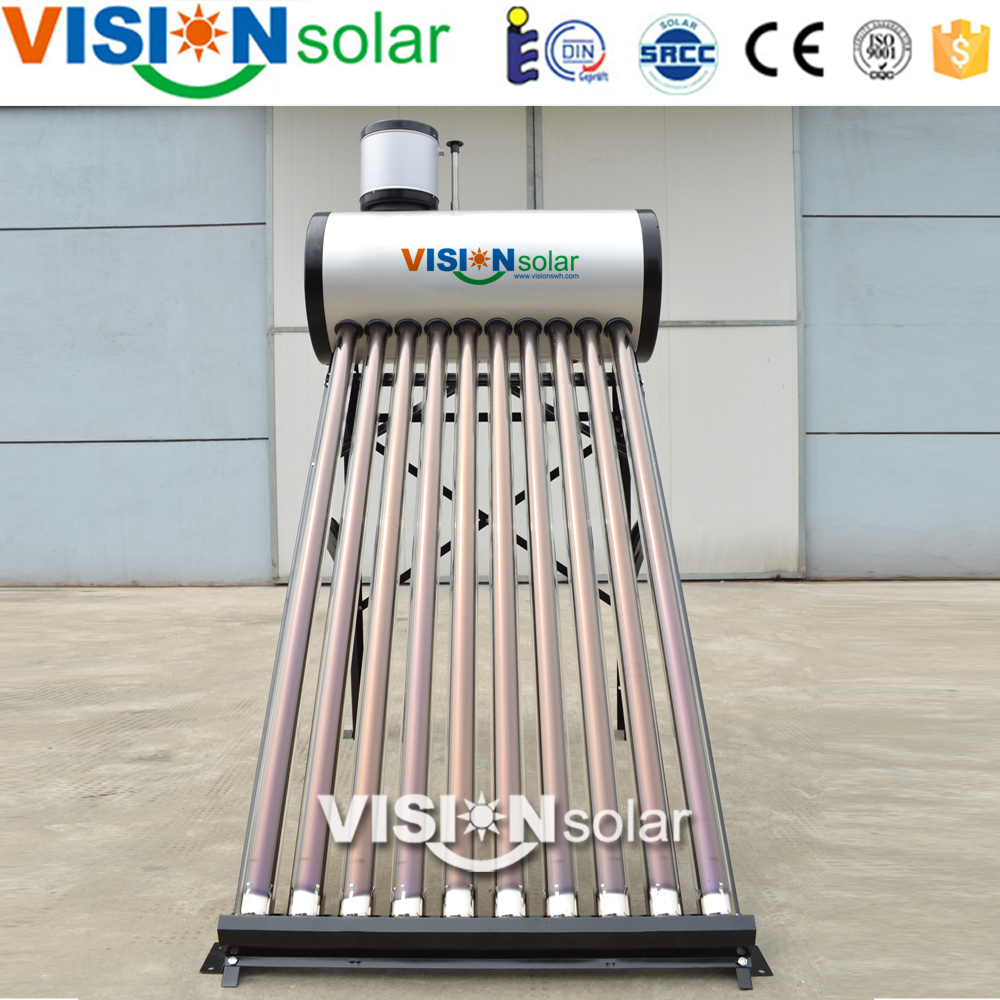 Compact Vacuum Tube Solar Water Heater Manufacturer China