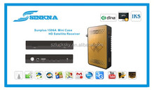 sunplus 1506 mini Full HD dvb-s2 digital satellite receiver with 3G, USB WIFI