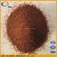 Cheap price garnet sand in abrasive