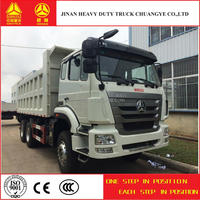 low price sinotruk 336hp tipper truck