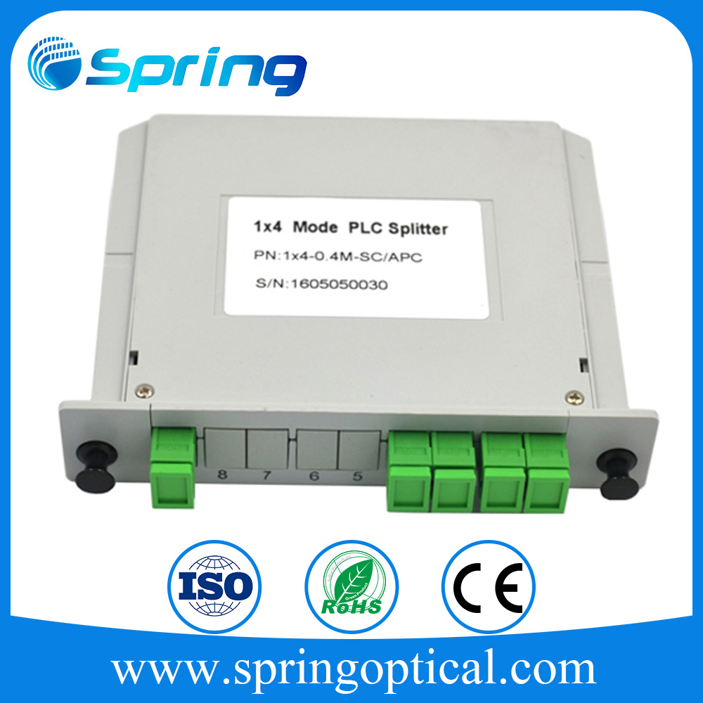 Factory supply 6core LC Quad Fiber Optic DIN Rail Enclosures Splice Box