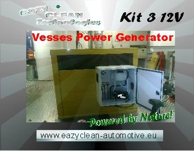 HHO Hydrogen Gas Generator Fuel Saving Kit 3 - Diesel Generators