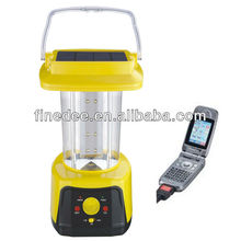 A60-02 Solar LED Portable Lantern with Radio