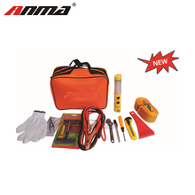 Car Safety Driving Travel Kit Emergency Breakdown Road Safety Kit EU Vehicle Car Van Caravan Warning Triangle Tools
