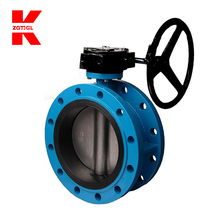 Flanged butterfly valve with rubber seated, PN10-16