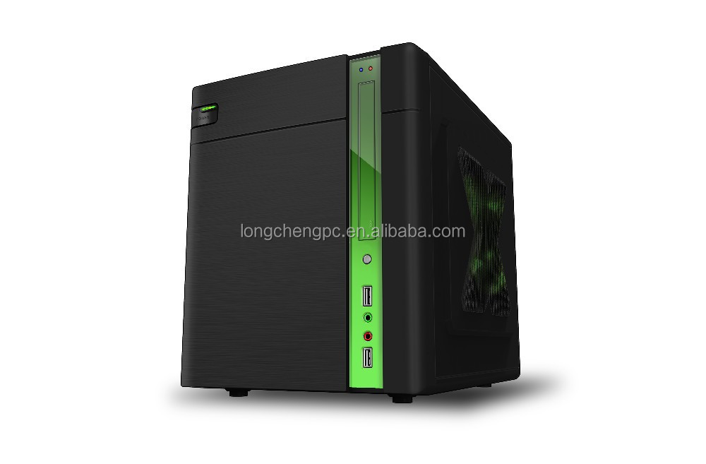 cheapest cube micro atx computer case/middle tower pc case/mini desktop itx case