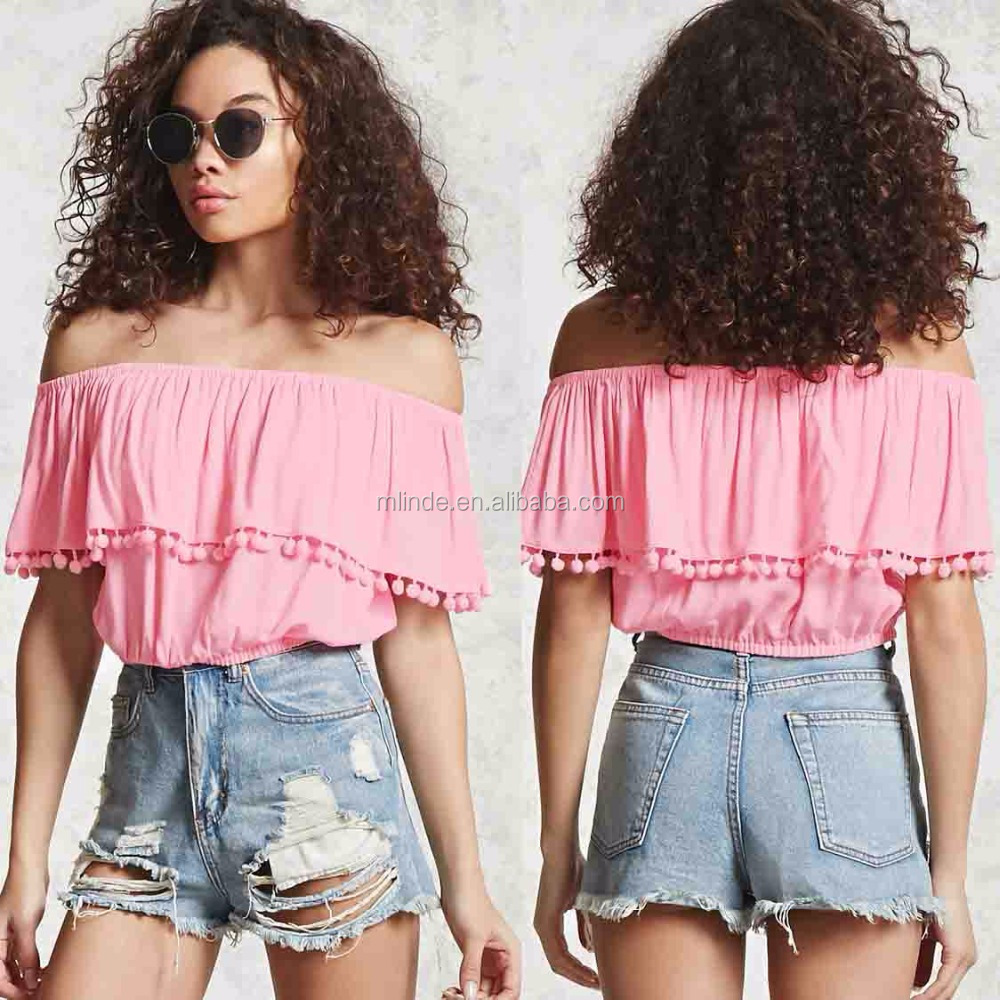 Women Off Shoulder Tops Contemporary Off-the-Shoulder Top Sexy Tops for Women