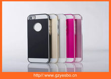 Wholesale for iphone 5 cases aluminum metal , for iphone 5S hard cover case