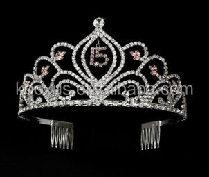 sweet bridal tiara and crown