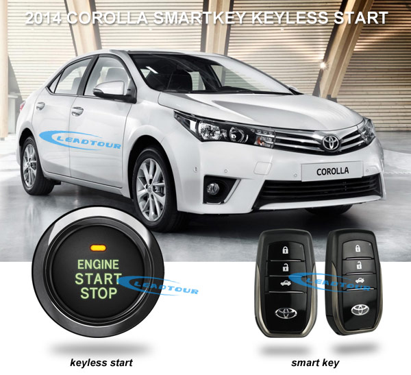 2014 New Corolla Keyless Entry Push Button Start