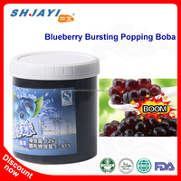 Blueberry Popping BobaJuice Bursting Boba for Bubble Milk Tea
