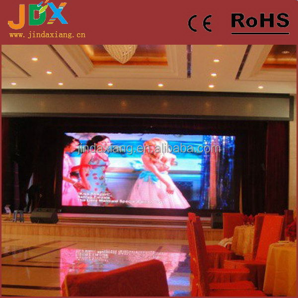 Top quality customized small size led screen display indoor