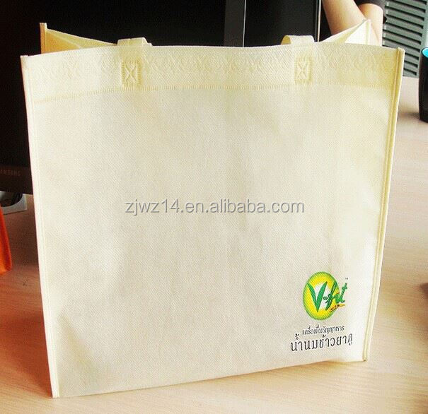 cheap fashion promotional pp non woven shopping bag/ advertising promotional non woven bag/ laminated photo print shopping bag