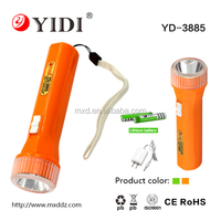 YIDI 18650 battery power led mini flashlight rechargeable torchlight light torch