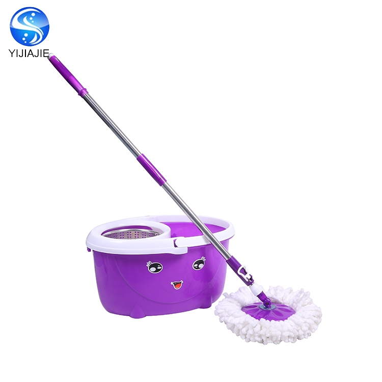 hot selling magic spin of mop bucket no foot pedal with factory price