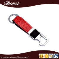 High quality personalized design leather cover compact key holder