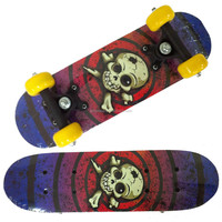 1705A-1VC4828A chinese maple 4-wheel skateboard both side with nice graphic