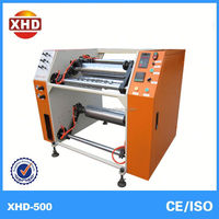 pe film horizontal slitting rewinder machine