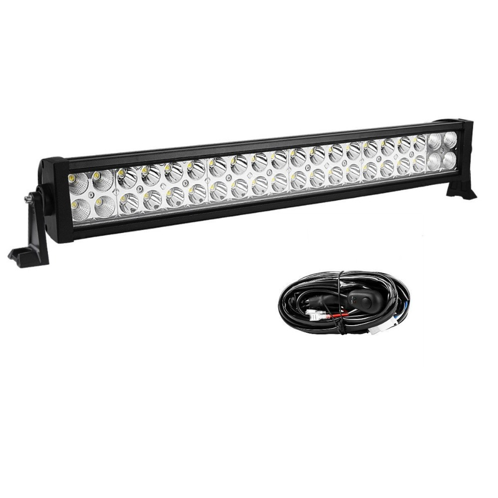 Wholesale dual row led light bar for off-road, Jeep, wragnler and other vehicles