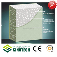 Waterproof Anti-earthquake Light Weight EPS Cement Sandwich Board (Professional Manufacturer)