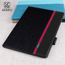 KAKU hybrid tpu 9.7 official magnetic logo customized tablet leather case for apple ipad 2018 9.7